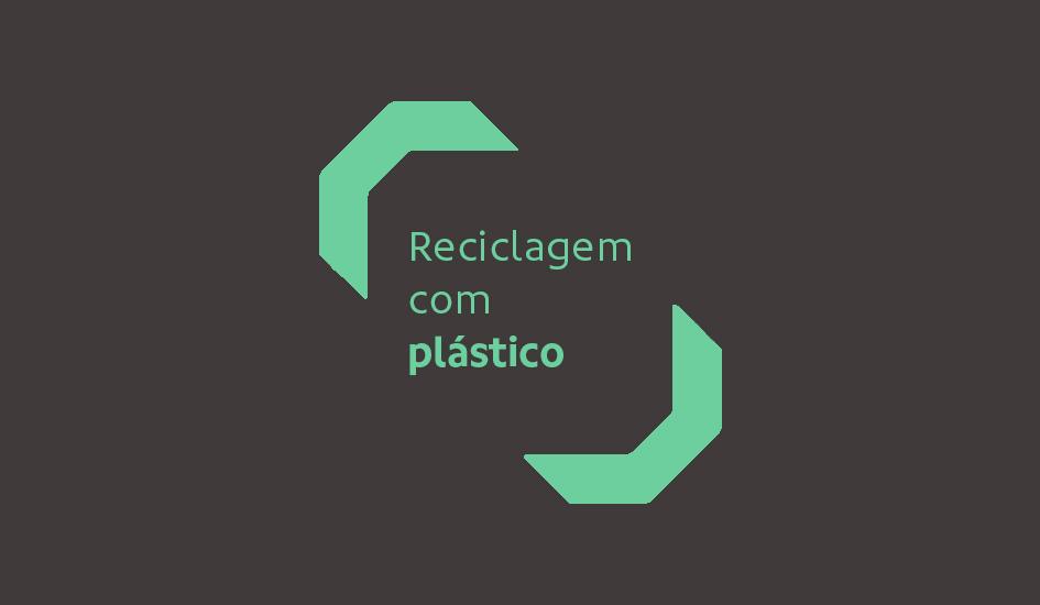 RECICLAGEM DE PAPEL COM PLÁSTICO?